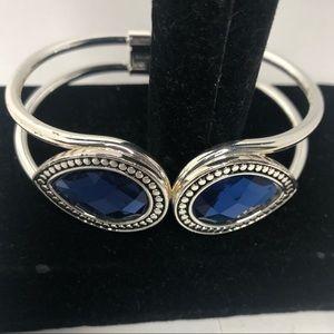 Gorgeous cobalt cuff bracelet